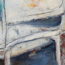 "CHAIR STUDY III 30"" x 30"" Mixed Media"